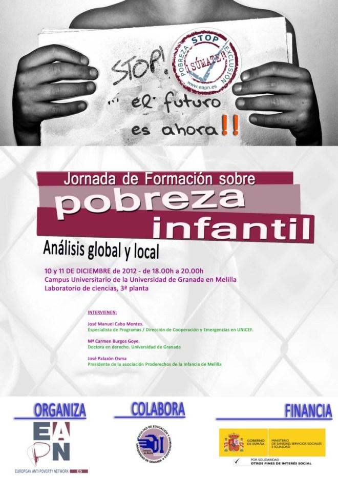 Jornada sobre pobreza infantil. Análisis global y local