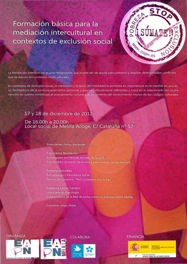 Cartel Jornadas Intercult [Resolución de Escritorio]